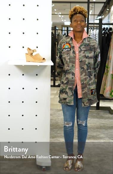 Tropez Wedge Slingback Sandal, sales video thumbnail