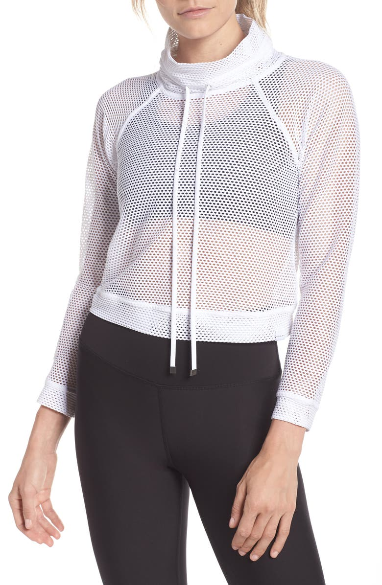 Mesh Pullover by Koral
