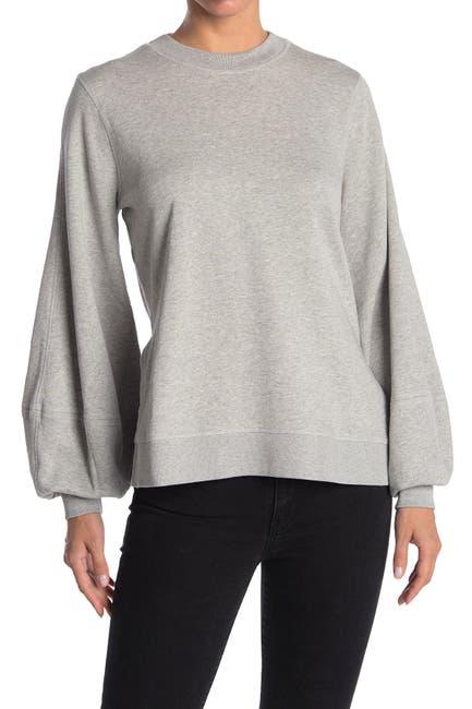 Image of GANNI Classic Isoli Puff Sleeve Sweatshirt
