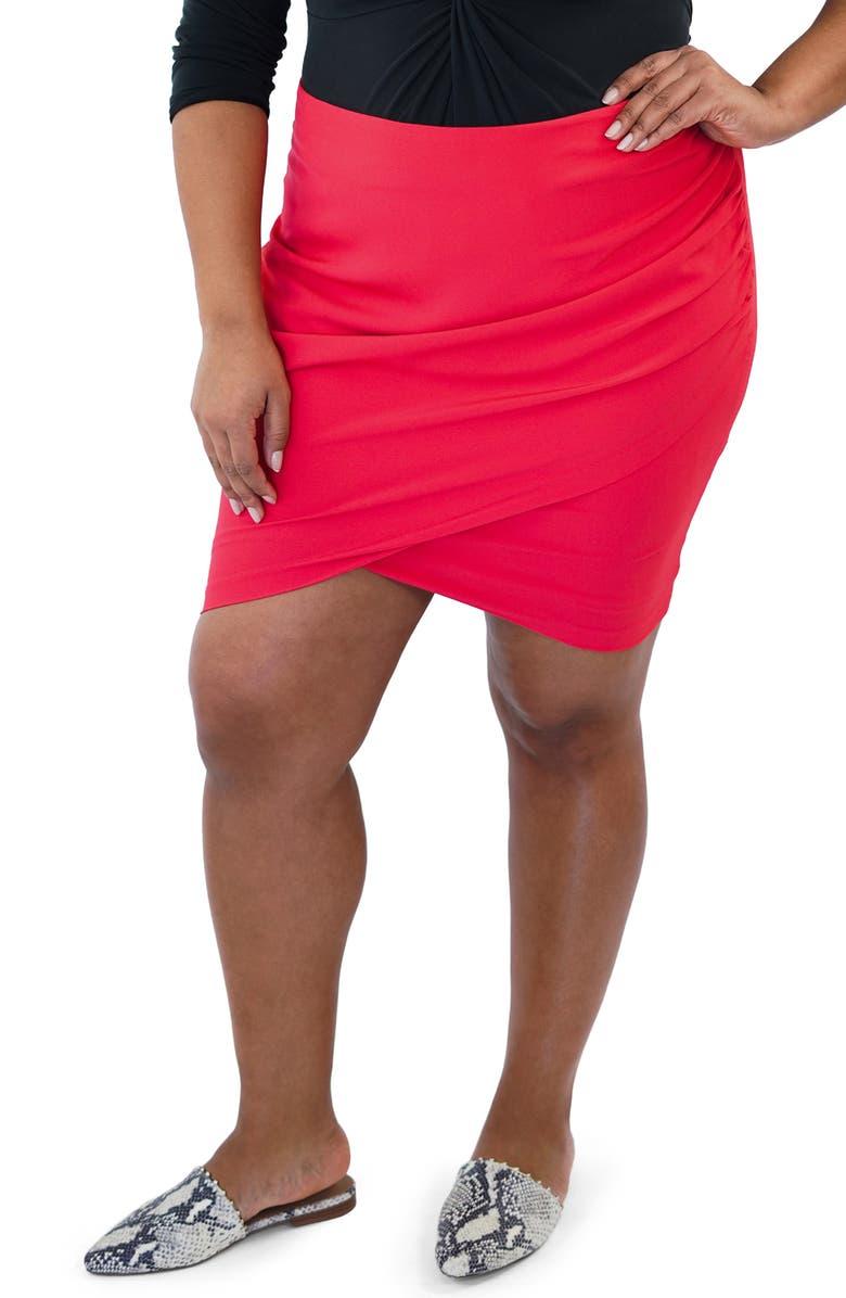 MARÉE POUR TOI Tulip Skirt, Main, color, 620