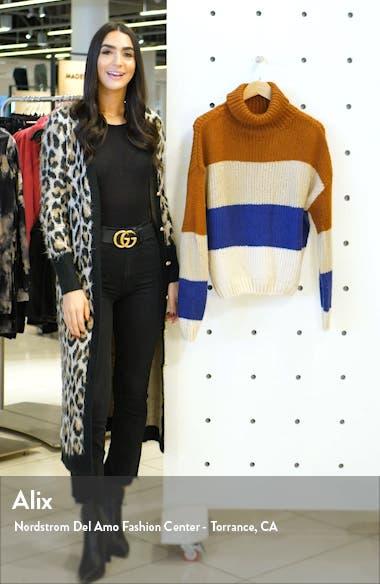 Stripe Turtleneck Sweater, sales video thumbnail
