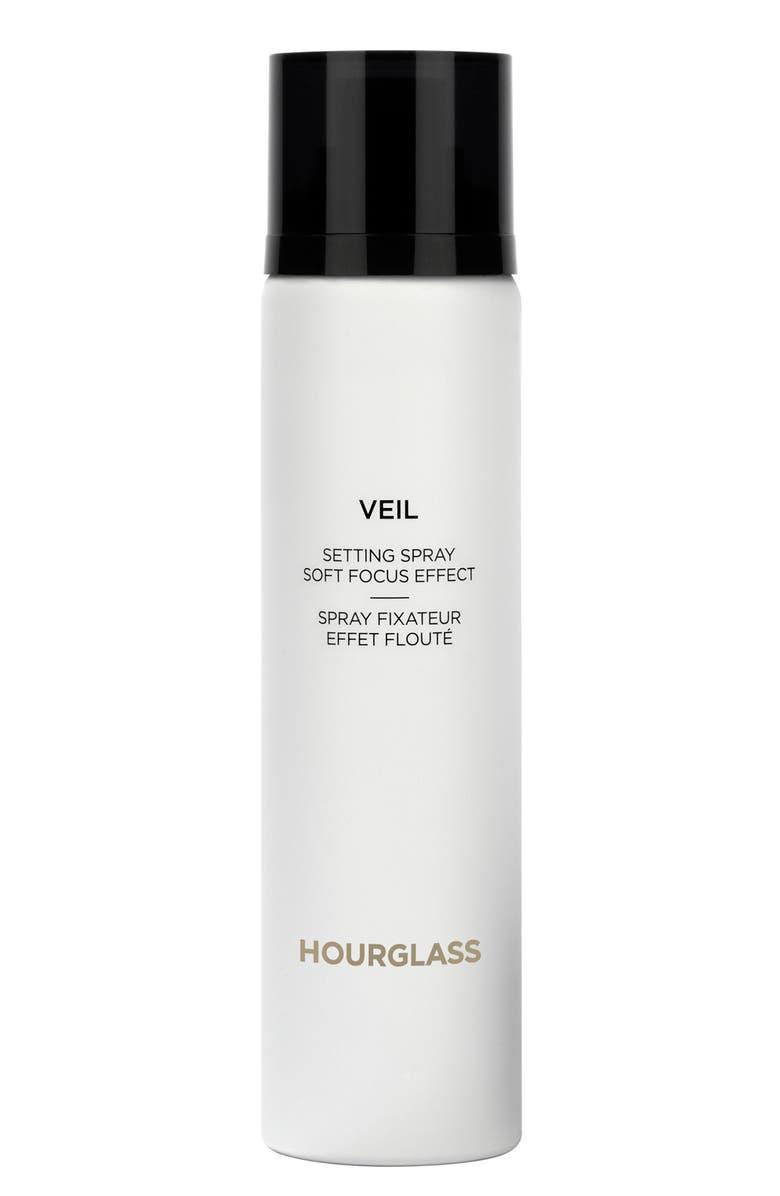 HOURGLASS Veil Soft Focus Setting Spray, Main, color, NO COLOR