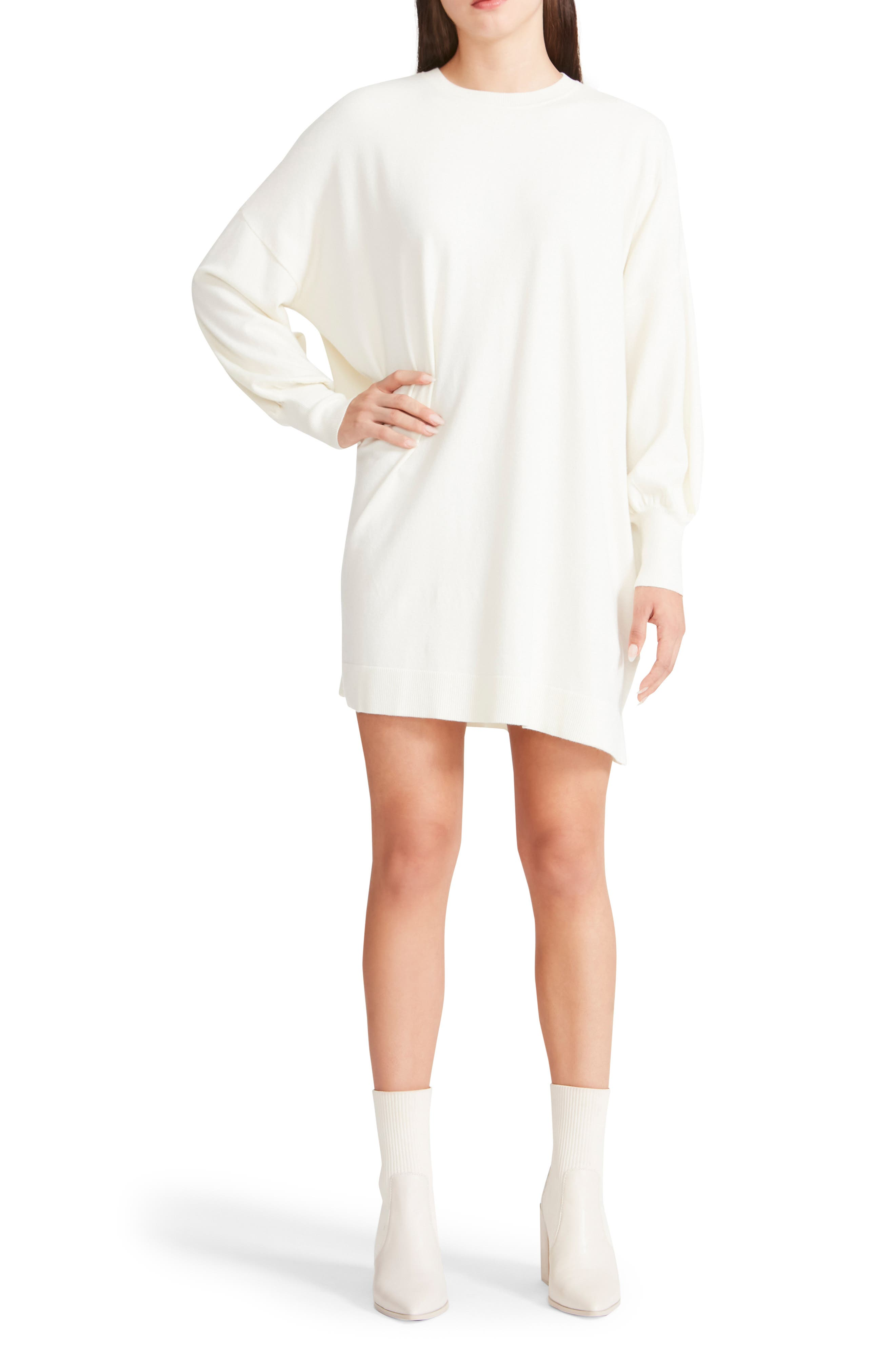 Olivia Long Sleeve Sweater Minidress
