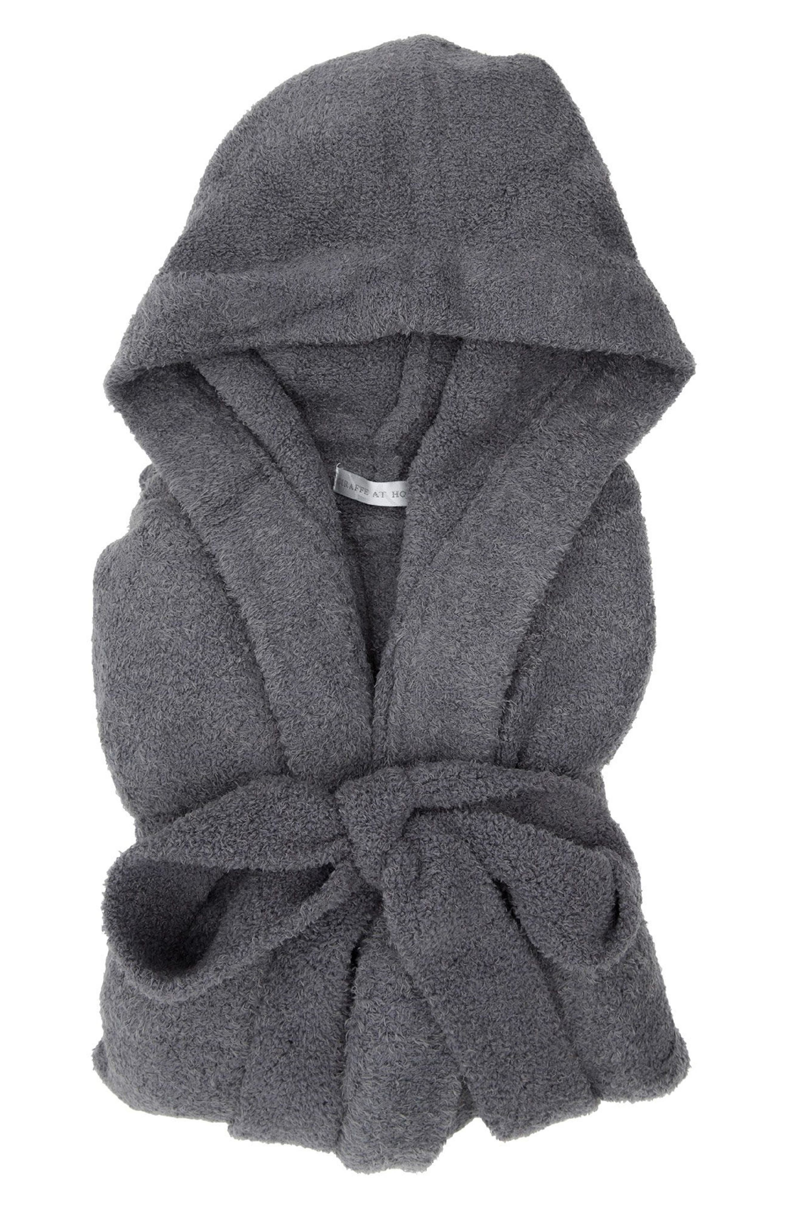 Dolce Chenille Hooded Robe