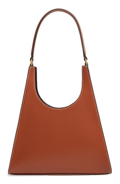 Staud REY LEATHER SHOULDER BAG