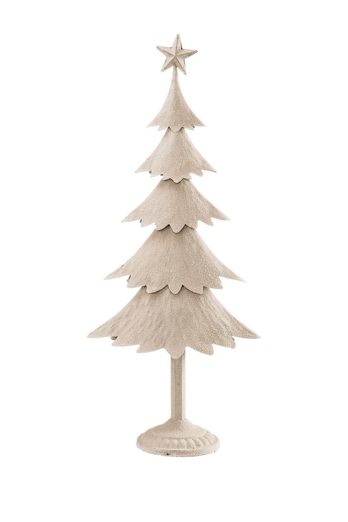 Image of ALLSTATE White Snowy Tree & Star