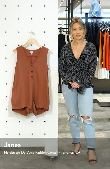 Camilla Cover-Up Romper, sales video thumbnail