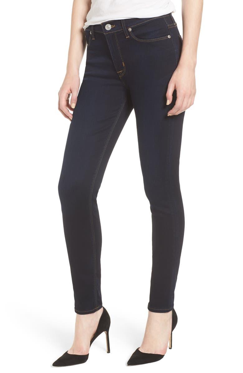 HUDSON JEANS Hudson Nico Midrise Super Skinny Ankle Jeans, Main, color, 401