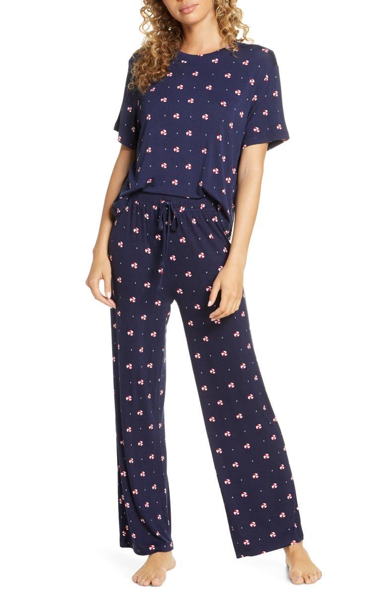 HONEYDEW INTIMATES Honeydew Inimtates All American Pajamas, Main, color, SILENT NIGHT CANDY