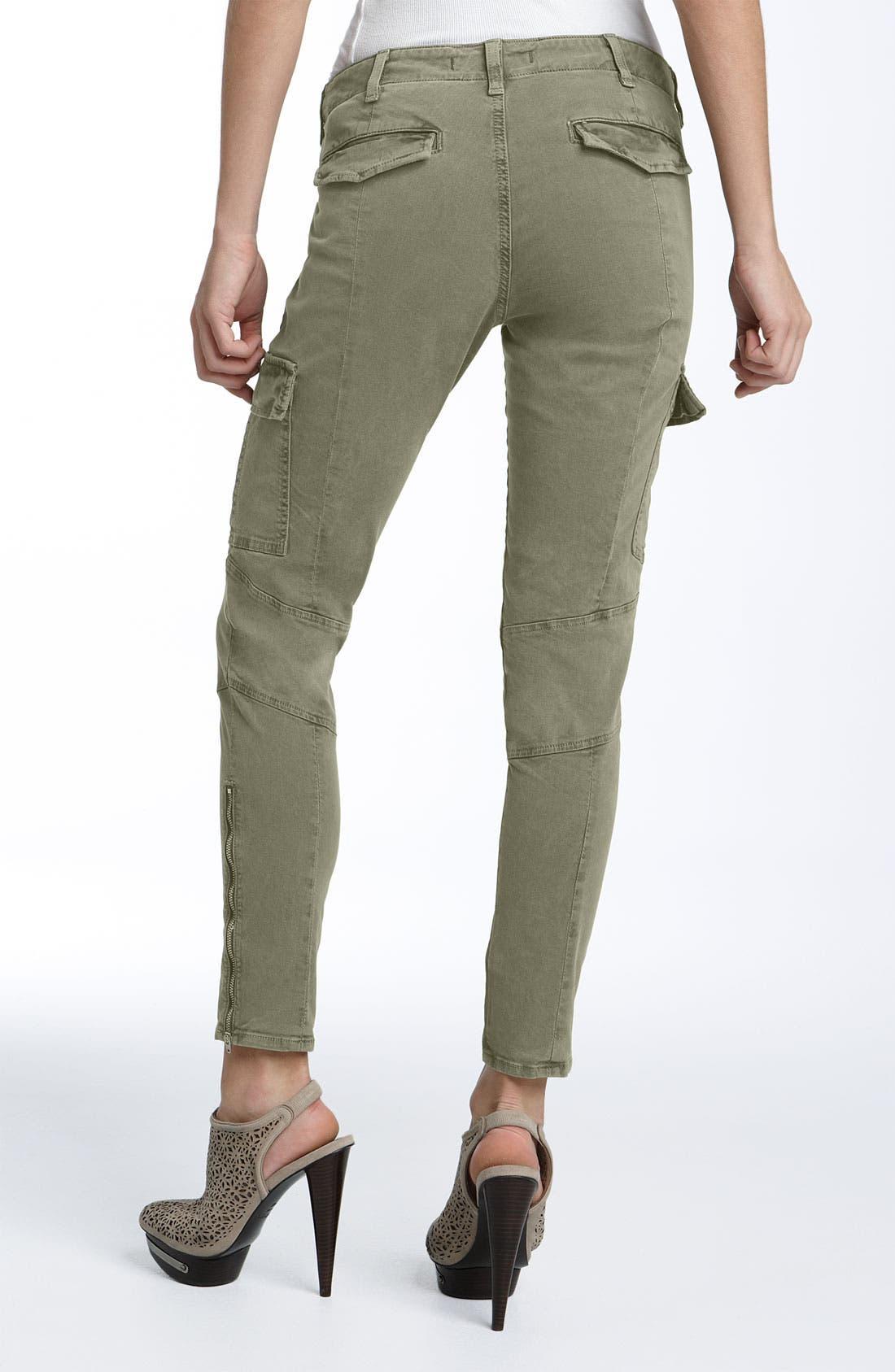 ,                             'Houlihan' Skinny Stretch Cotton Cargo Pants,                             Alternate thumbnail 7, color,                             231