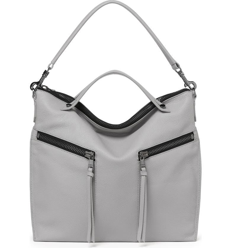 BOTKIER Trigger Convertible Hobo Bag, Main, color, SILVER GREY