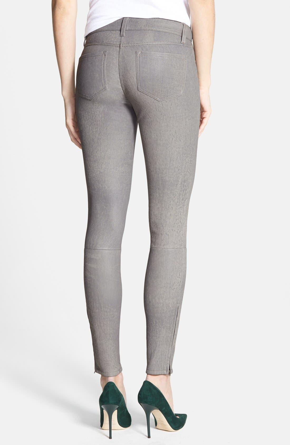 ,                             '8001' Lambskin Leather Pants,                             Alternate thumbnail 47, color,                             024