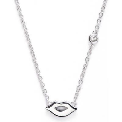 Syd By Sydney Evan Lips Necklace