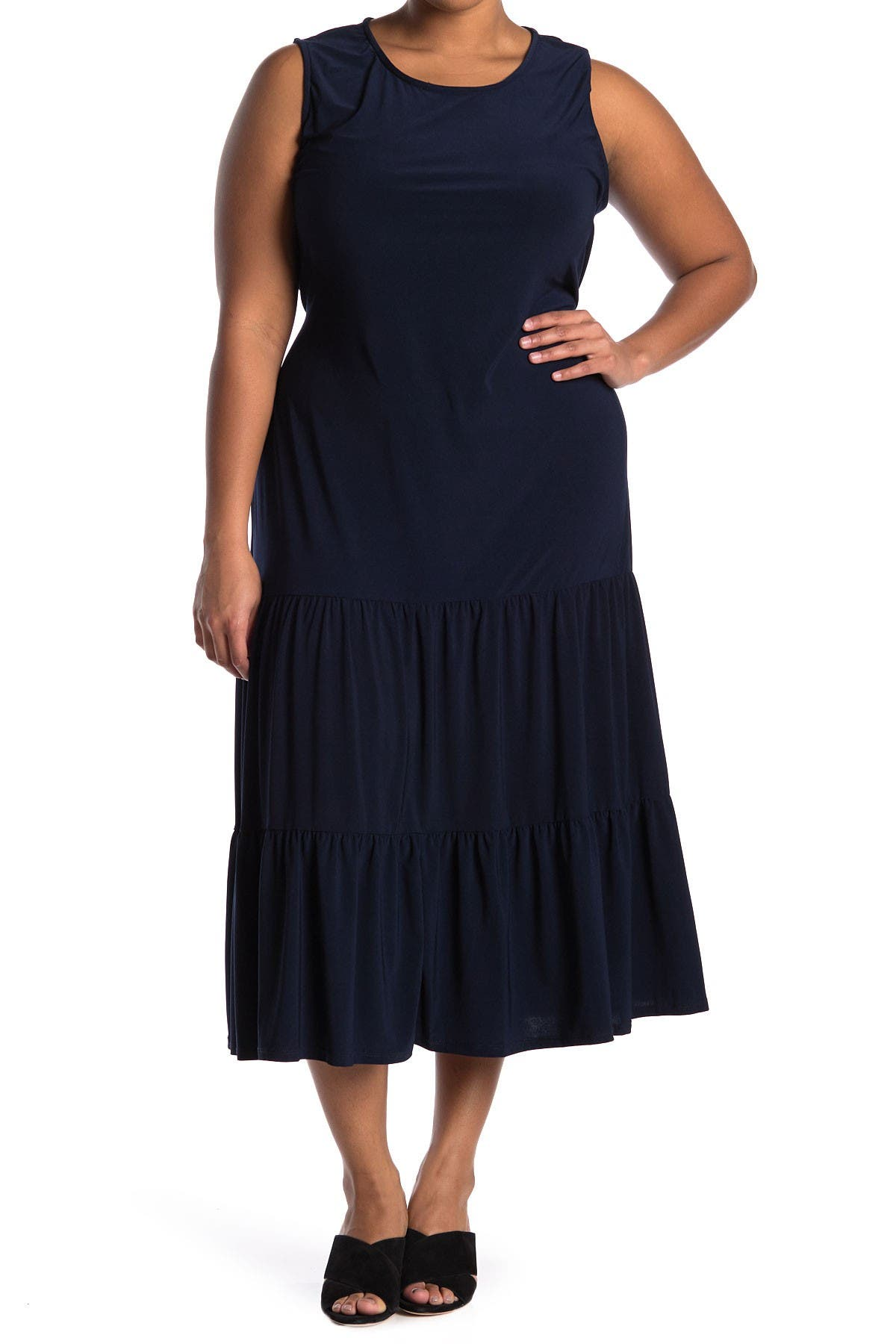 Image of TASH + SOPHIE Tiered Maxi Dress