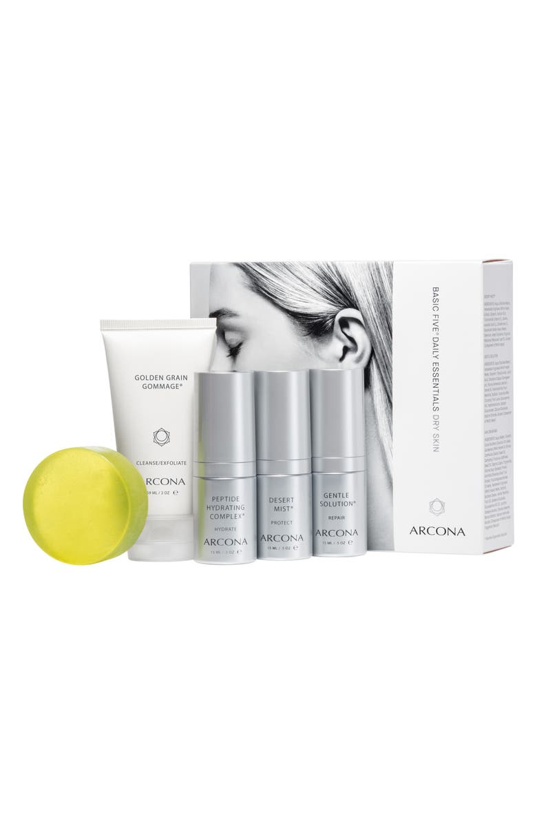 ARCONA Dry Skin Starter Kit, Main, color, NO COLOR