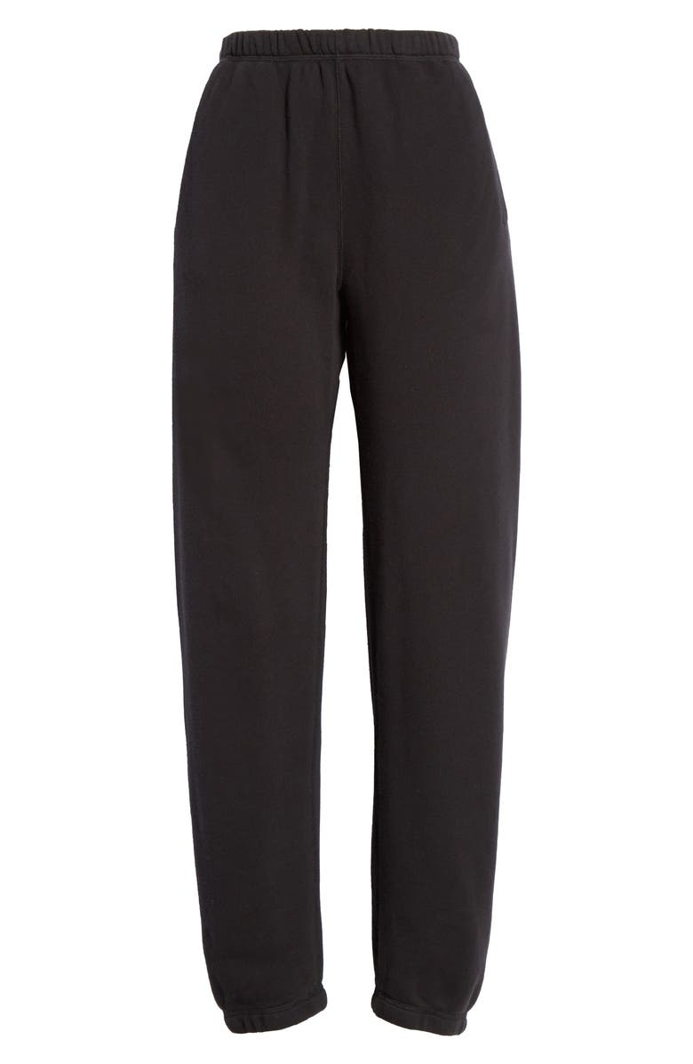 ENTIREWORLD French Terry Sweatpants, Main, color, BLACK