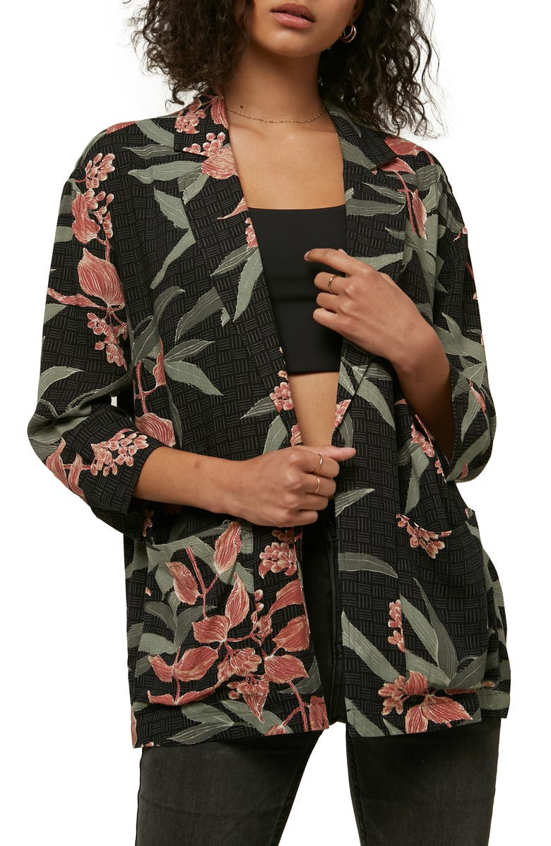 ONeill Aimee Floral Print Jacket