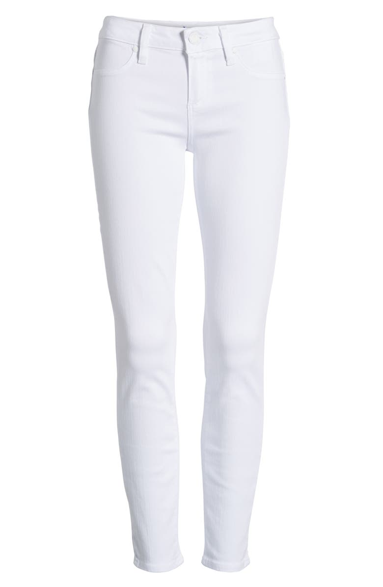PAIGE 'Verdugo' Ankle Skinny Jeans, Main, color, 100