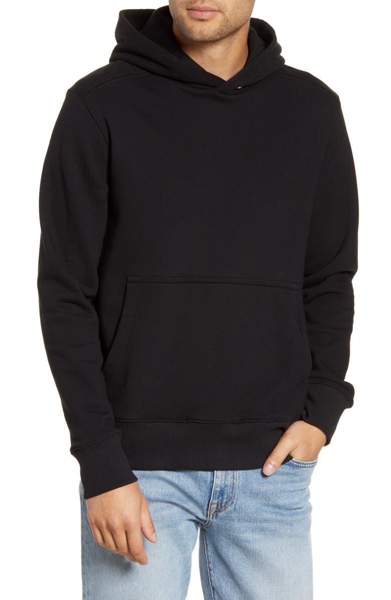 BLDWN Cale Hooded Sweatshirt, Main, color, BLACK