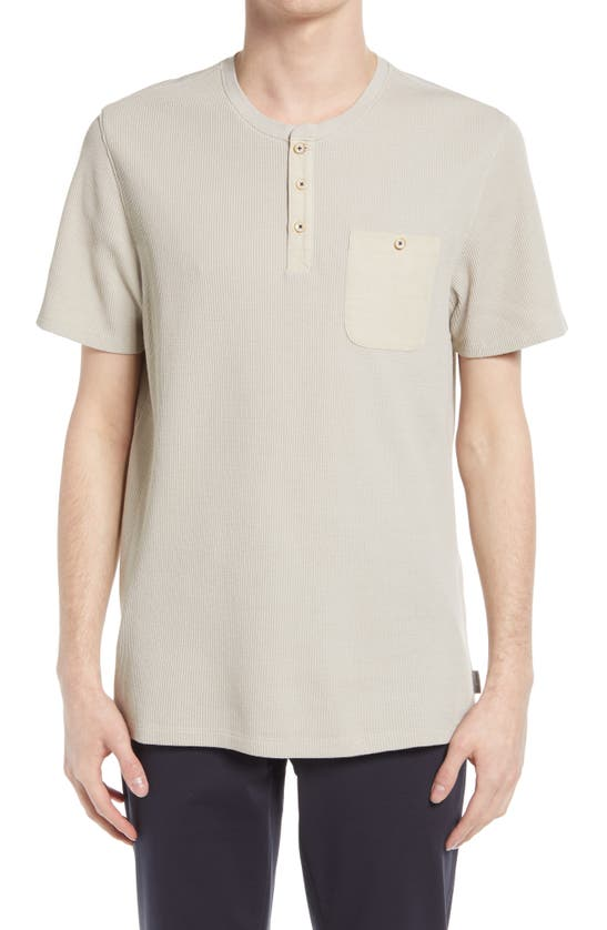 Ted Baker TEKILLA SHORT SLEEVE HENLEY SHIRT