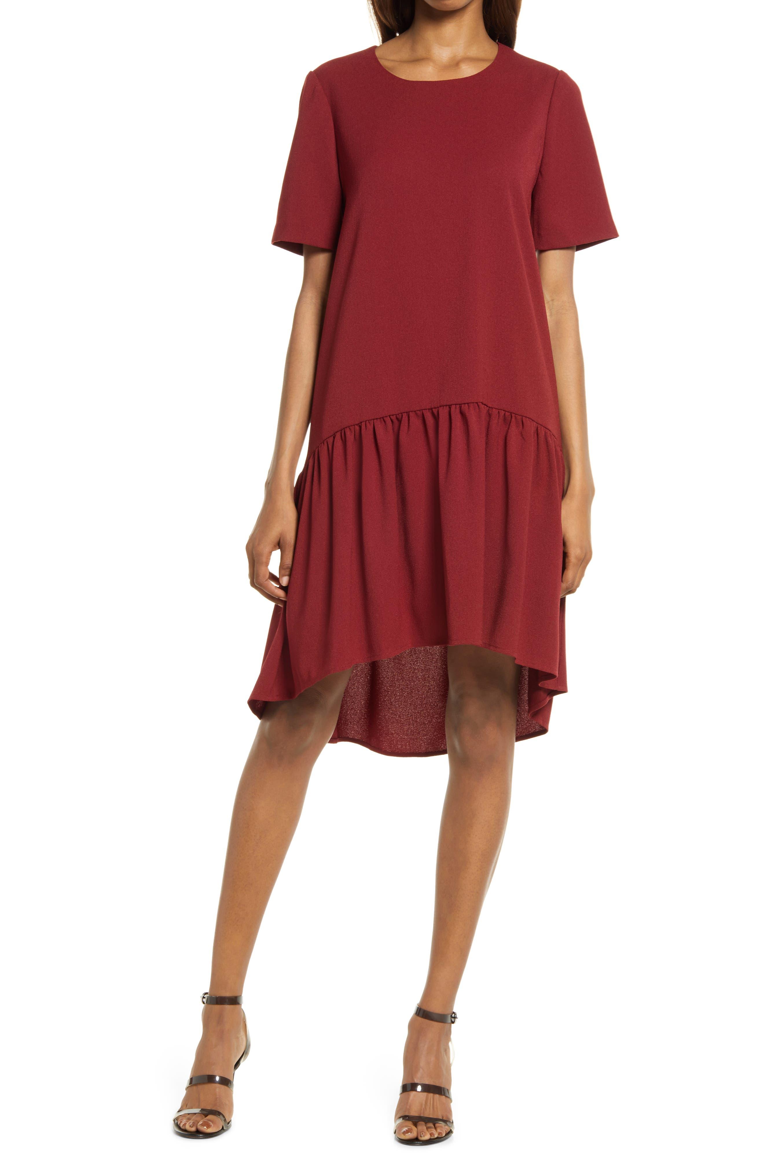 High/low Knit Dress