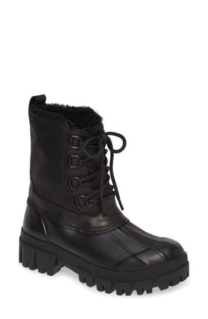 Image of Rag & Bone Genuine Shearling Lined Winter Boot