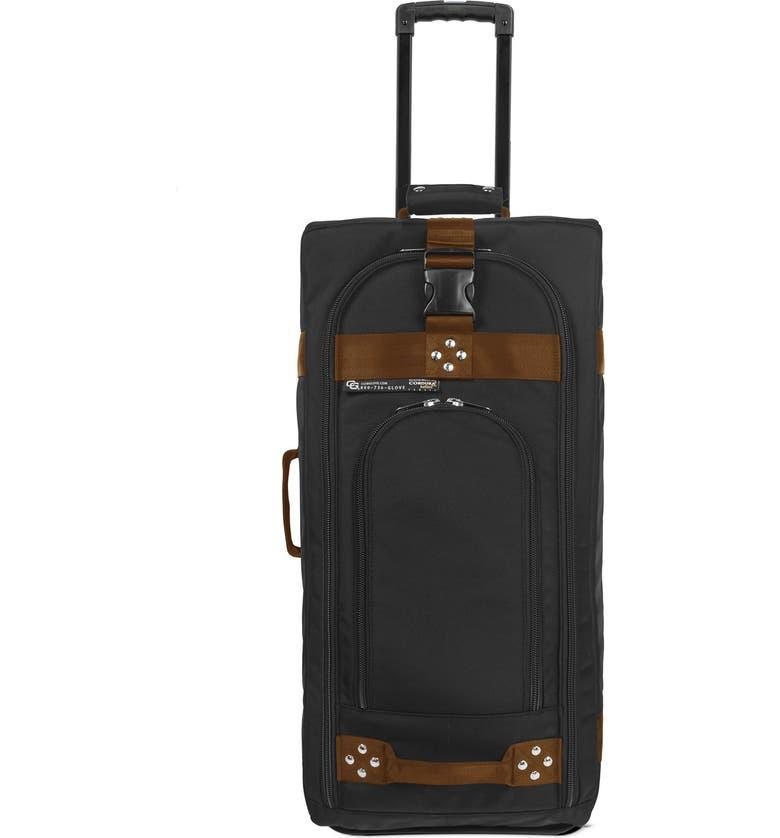CLUB GLOVE <sup>®</sup> 'TRS Ballistic' Wheeled Suitcase, Main, color, BLACK/ BRONZE