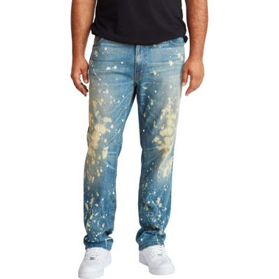 Mvp Collections Straight Leg Jeans, Blue