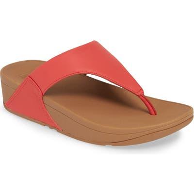 Fitflop Lulu Flip Flop, Red