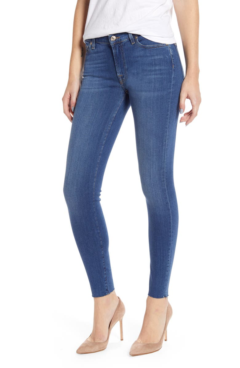 7 FOR ALL MANKIND<SUP>®</SUP> 7 For All Mankind Ankle Skinny Jeans, Main, color, SLIM ILLUSION LUXE LOVE STORY