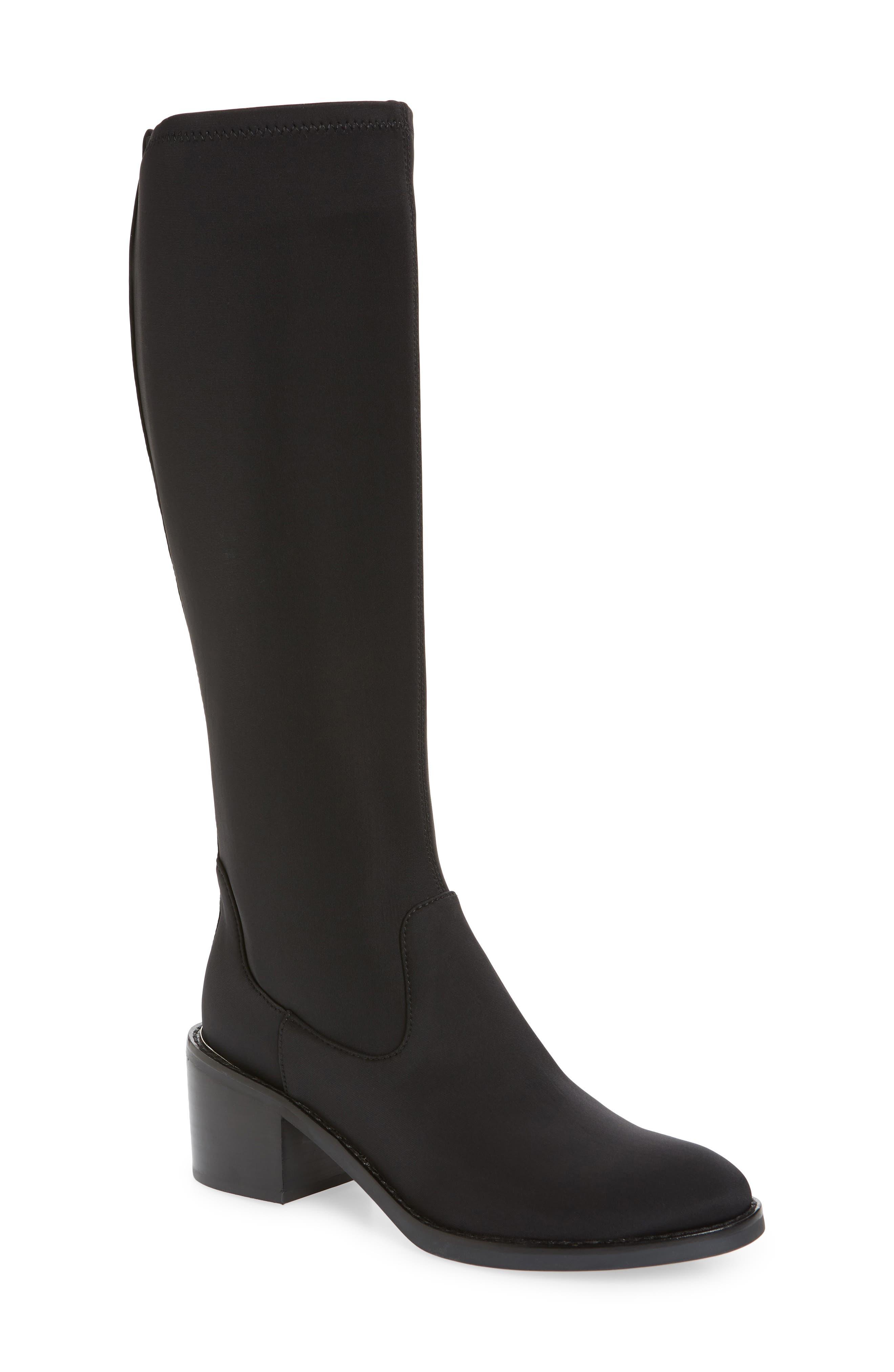 Image of Donald Pliner Deno Knee High Block Heel Boot