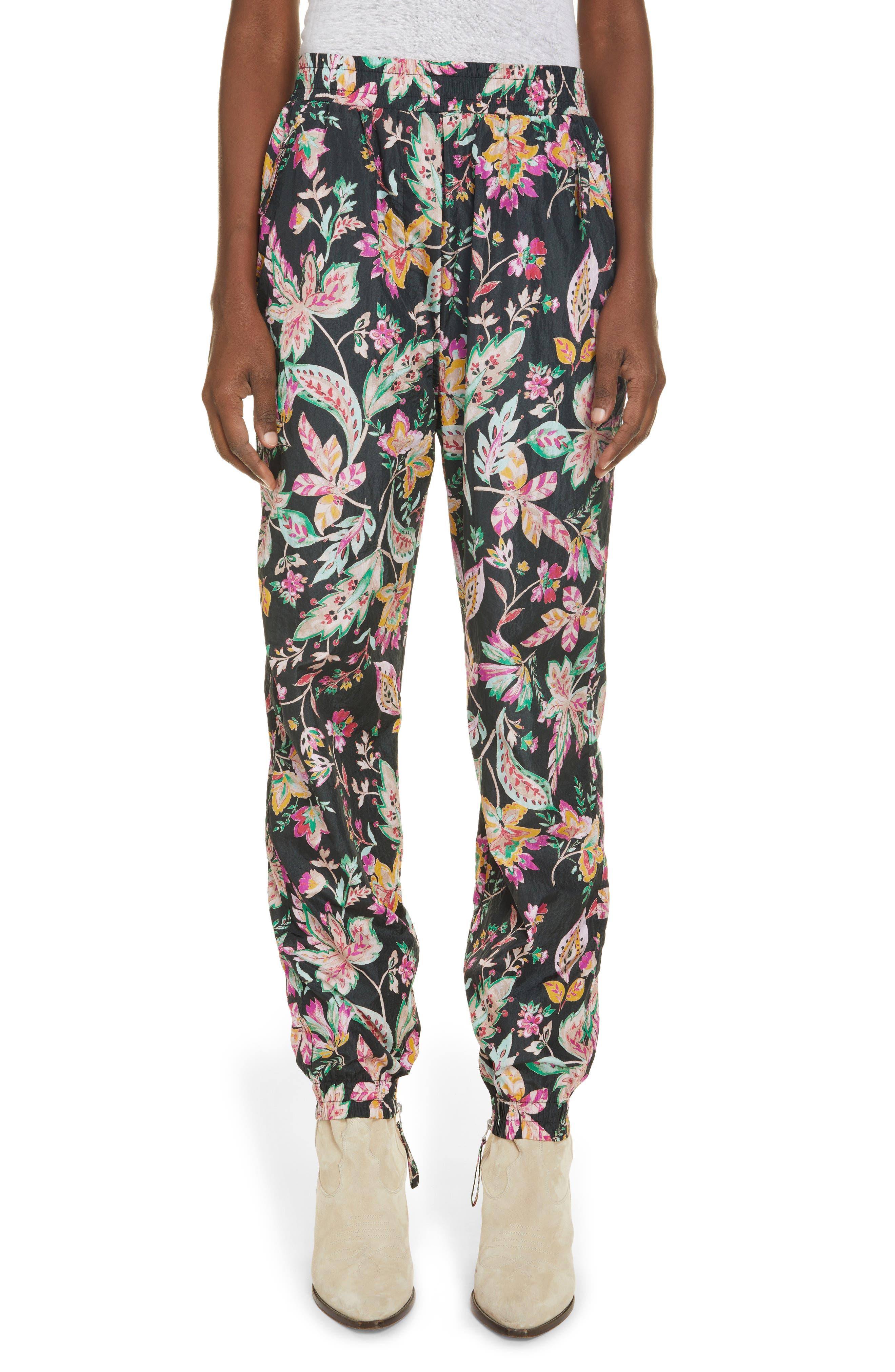 Women's Isabel Marant Etoile Floral Joggers