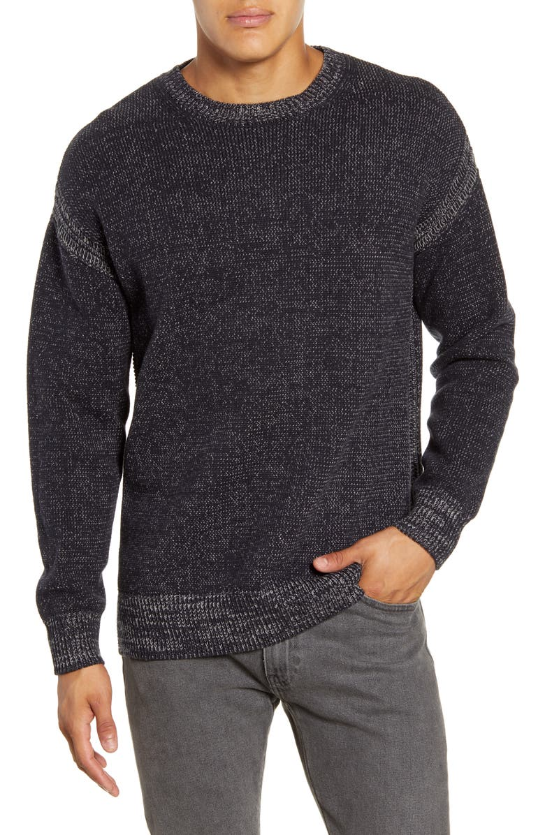 RAILS Bryce Crewneck Sweater, Main, color, NAVY