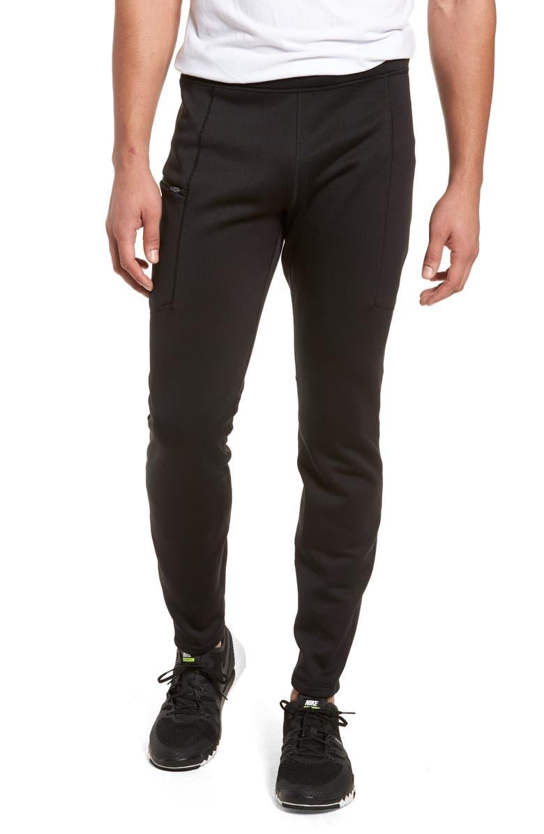 PATAGONIA Crosstrek Power Stretch<sup>®</sup> Performance Fleece Pants, Main, color, 001
