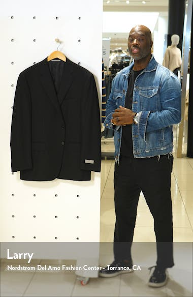 Classic Fit Solid Wool Blazer, sales video thumbnail