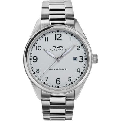 Timex Waterbury Automatic Bracelet Watch, 42mm