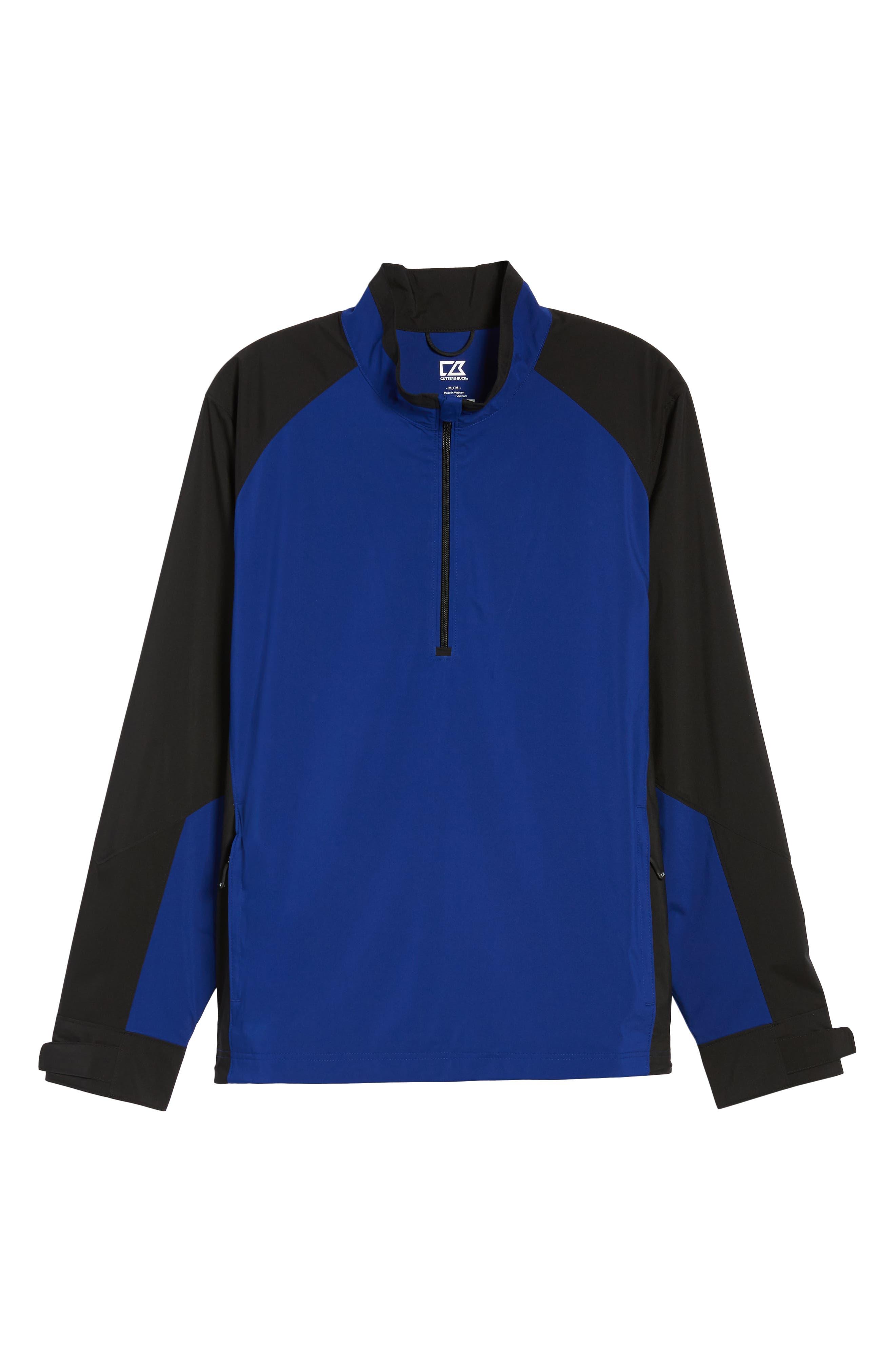 ,                             'Summit' WeatherTec Wind & Water Resistant Half Zip Jacket,                             Alternate thumbnail 18, color,                             401
