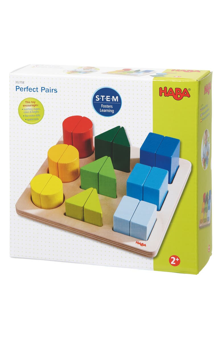 HABA Perfect Pairs Game, Main, color, MULTI