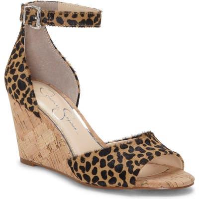 Jessica Simpson Cervena Wedge Sandal, Beige