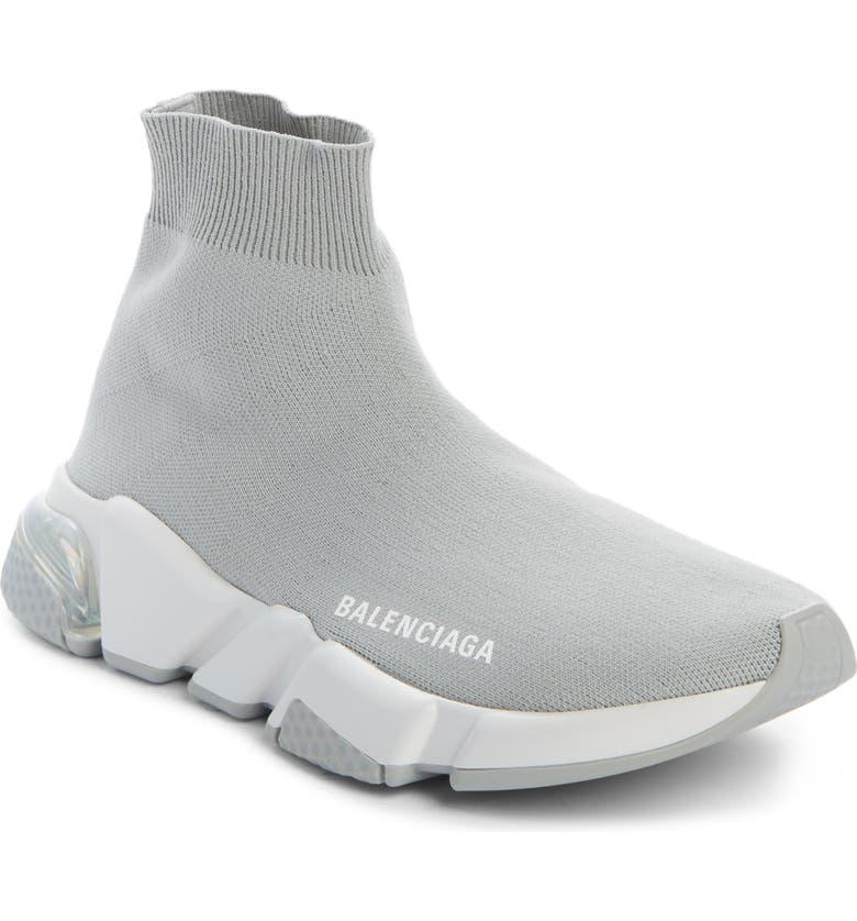 BALENCIAGA Speed LT Sneaker, Main, color, GREY