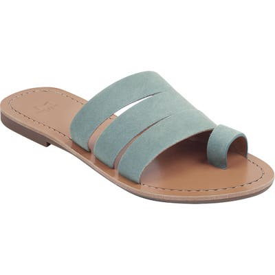 Marc Fisher Ltd Rilee Slide Sandal, Blue