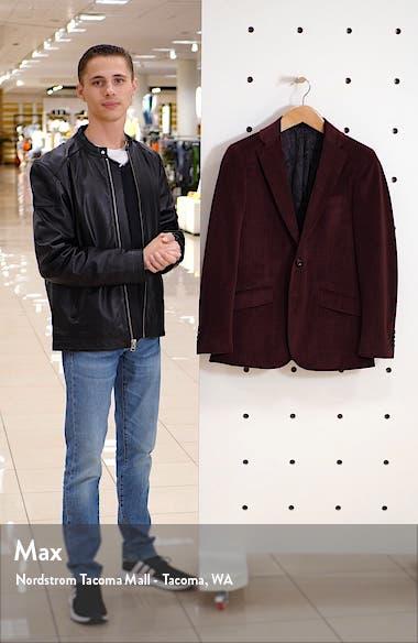 Wilkes Regular Fit Velvet Sport Coat, sales video thumbnail