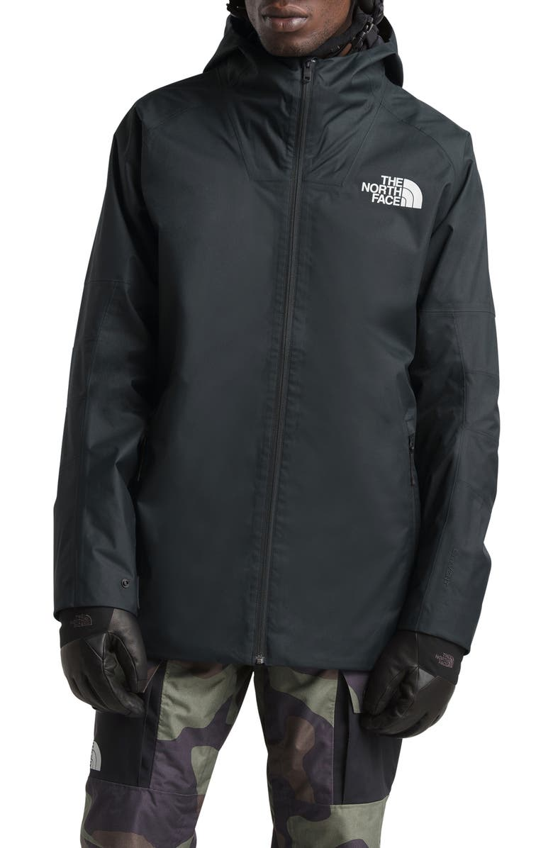 THE NORTH FACE Lyell Hooded Jacket, Main, color, TNF BLACK