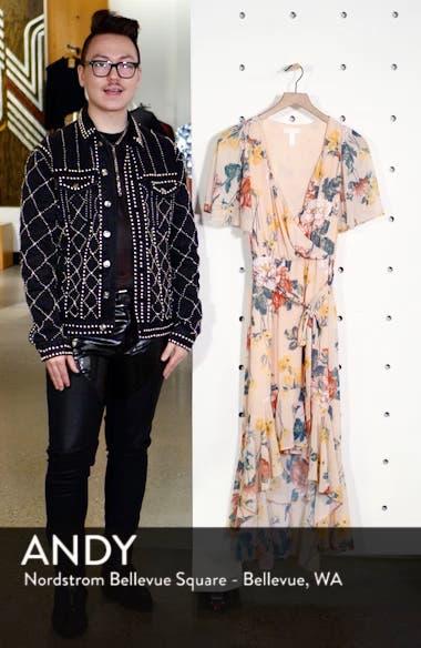 Flutter Sleeve High/Low Dress, sales video thumbnail