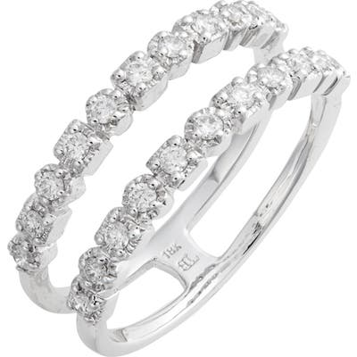 Bony Levy Maya Two-Row Diamond Ring (Nordstrom Exclusive)