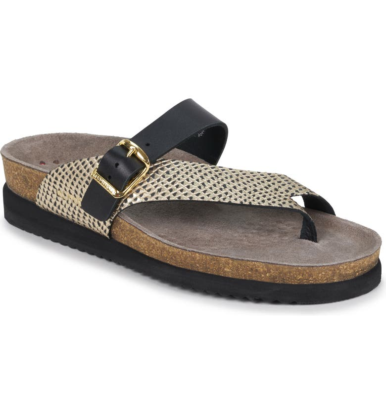 MEPHISTO Helen Mix Sandal, Main, color, BLACK/ GOLD