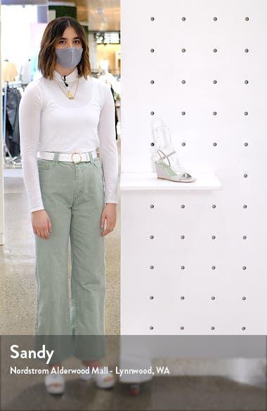 Entree Ankle Strap Wedge Sandal, sales video thumbnail