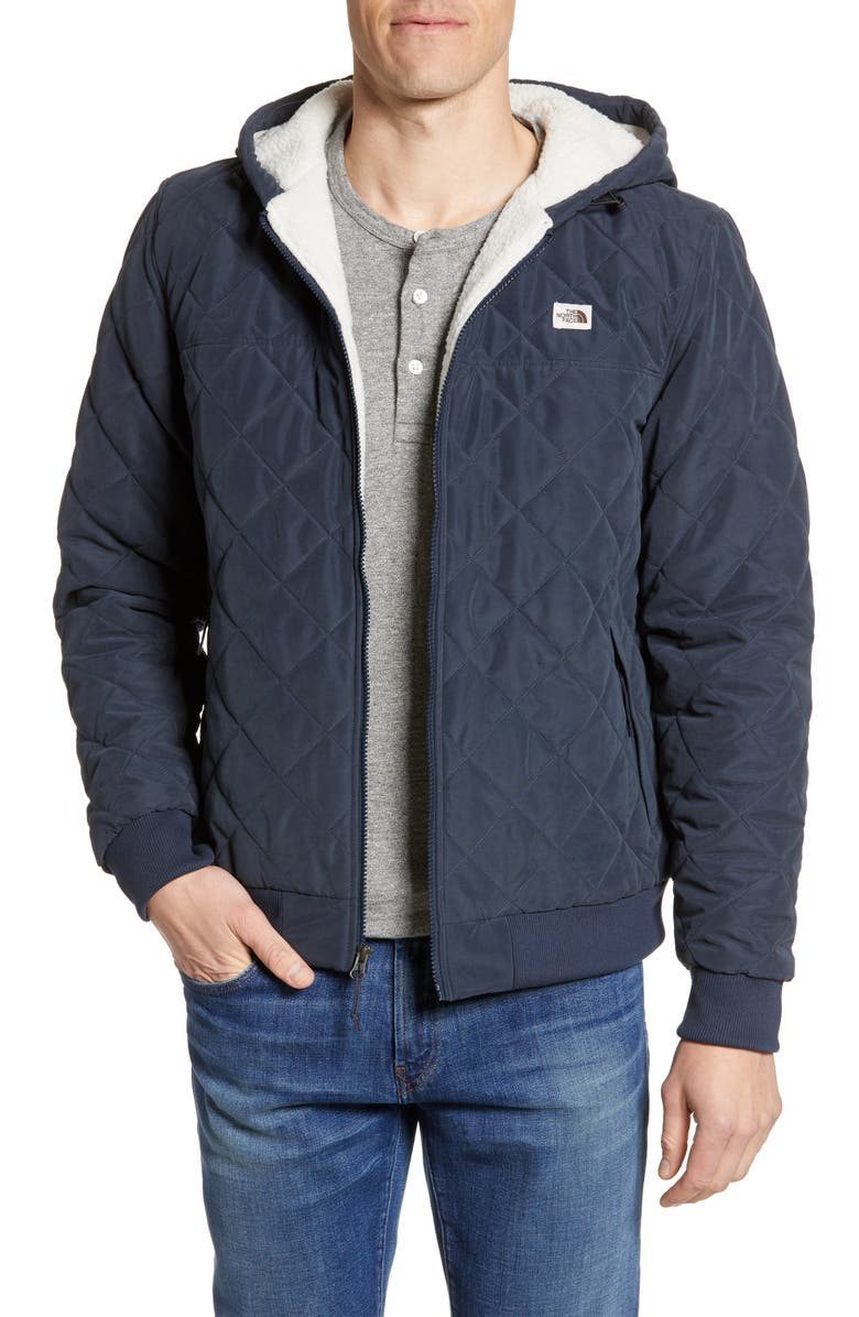 THE NORTH FACE Cuchillo Insulated Hooded Jacket, Main, color, URBAN NAVY
