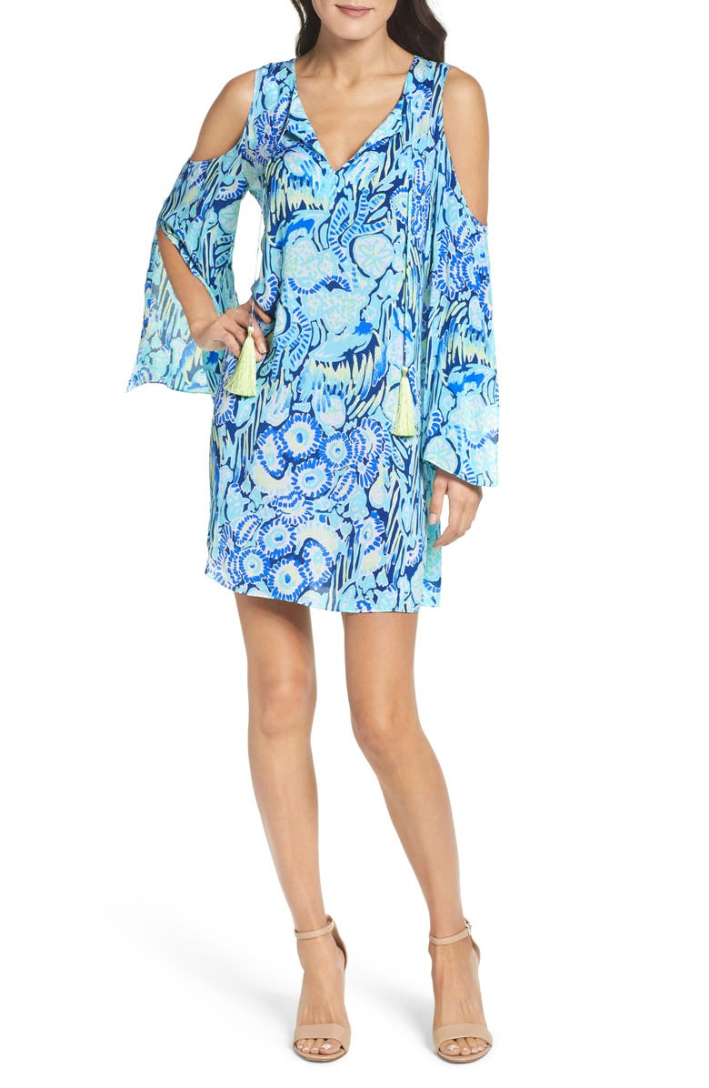 f0557b27014 Lilly Pulitzer® Benicia Cold Shoulder Dress | Nordstrom