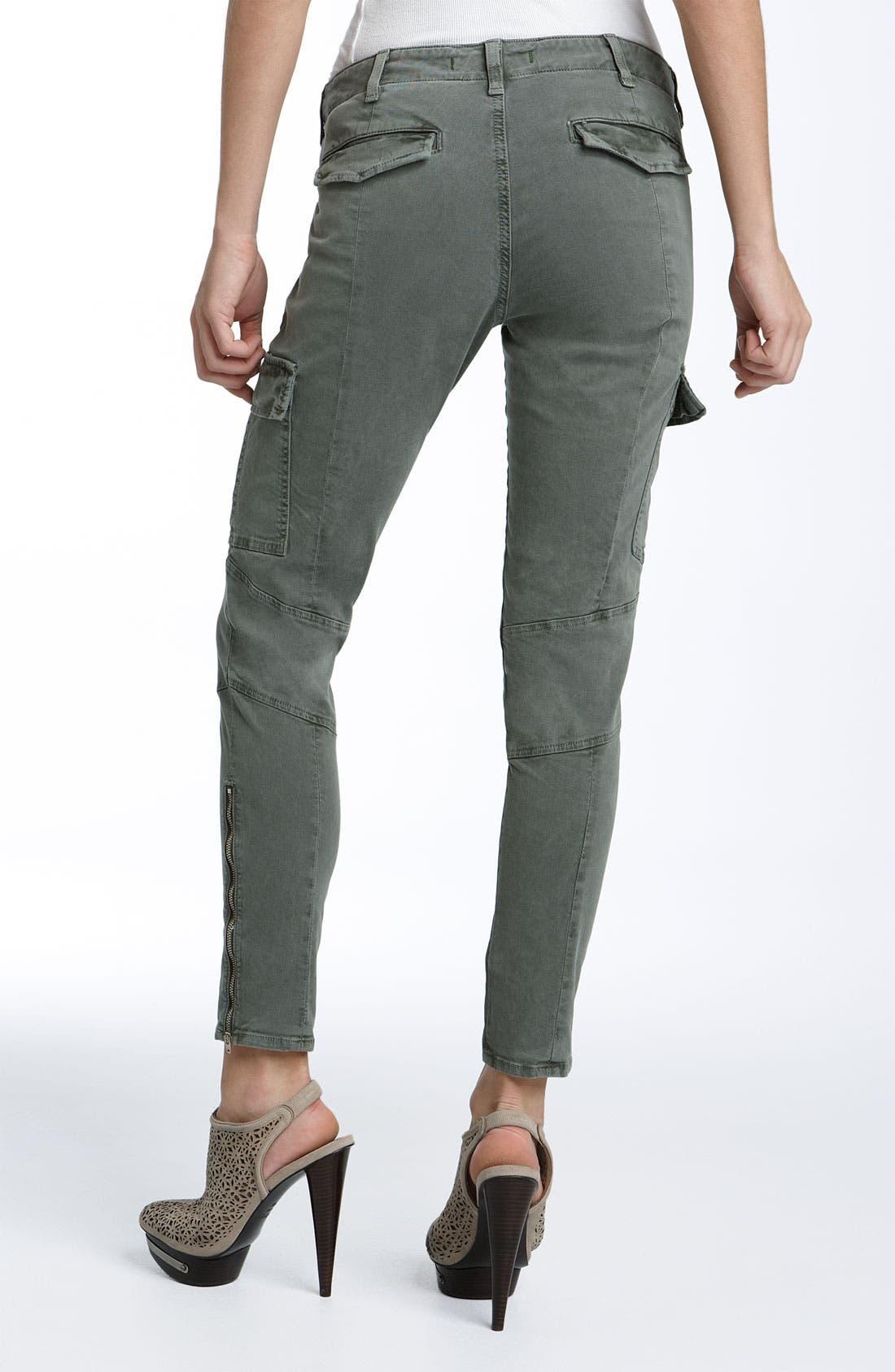 ,                             'Houlihan' Skinny Stretch Cotton Cargo Pants,                             Alternate thumbnail 11, color,                             341